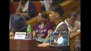"""""""It's like their weapons are unlimited,"""" a battle-tested soldier, scarred during the war on terror in Marawi City, said of Maute group members during a joint session of the Congress on martial law extension."""