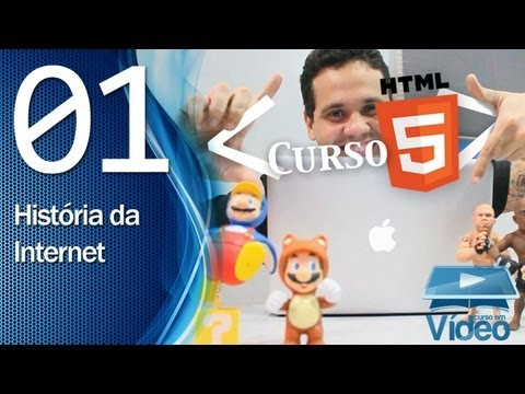 Curso HTML5 – 01 – História da Internet – by Gustavo Guanabara