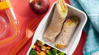 Veggie Tortilla Wraps - Easy School Lunch Recipes - Weelicious