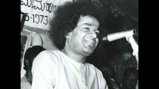 Ομιλία του Σρι Σάτυα Σάι Μπάμπα