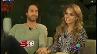 Angelique Boyer y Sebastián Rulli por primera vez hablan de su relación en una entrevista exclusiva para Sal y Pimienta.