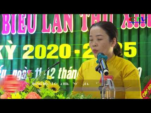 Đảng bộ xã Cam Hiếu Đại hội đại biểu lần thứ XIII