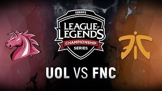 Video UOL vs. FNC - Week 8 Day 2 | EU LCS Spring Split |  Unicorns of Love vs. Fnatic (2018) MP3, 3GP, MP4, WEBM, AVI, FLV Juni 2018