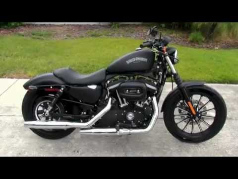new 2013 harley davidson xl883n sportster iron 883 in. Black Bedroom Furniture Sets. Home Design Ideas