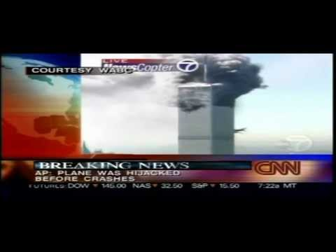911 - CNN Live of September 11 2001 from 8:40am - 10:11am. Rest of the day available here: http://www.youtube.com/watch?v=91QjzFBwKA8 Hear the voices behind the sc...