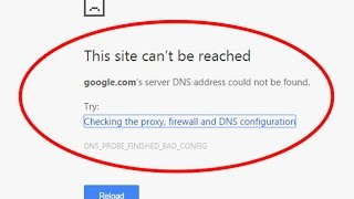 Fix DNS address could not be foundThis site can't be reachedDNS_PROBE_FINISHED_BAD_CONFIG-this site cannot be reached-dns probe finished bad config,this me...