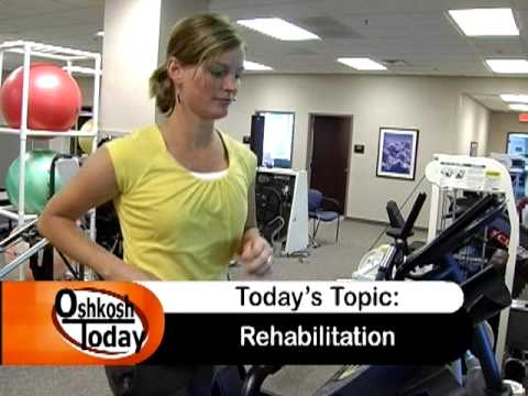 rehabilitation - There are many different options available at Aurora Medical Center in Oshkosh to help you rehabilitate from an injury. In this segment Ted Stefaniak is join...