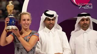 Qatar Tolal Open 2019 : Résume: Belle performance de ons jabeur en Double, un tournoi très réussie pour Mertens