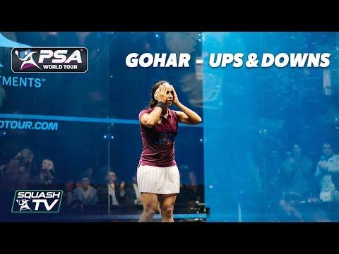 Squash: Nouran Gohar - Ups & Downs