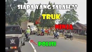 Video Truk Nabr4k Ninja Di Depan Polisi - Kebiasaan Orang Indonesia Saling Salahkan MP3, 3GP, MP4, WEBM, AVI, FLV Oktober 2018