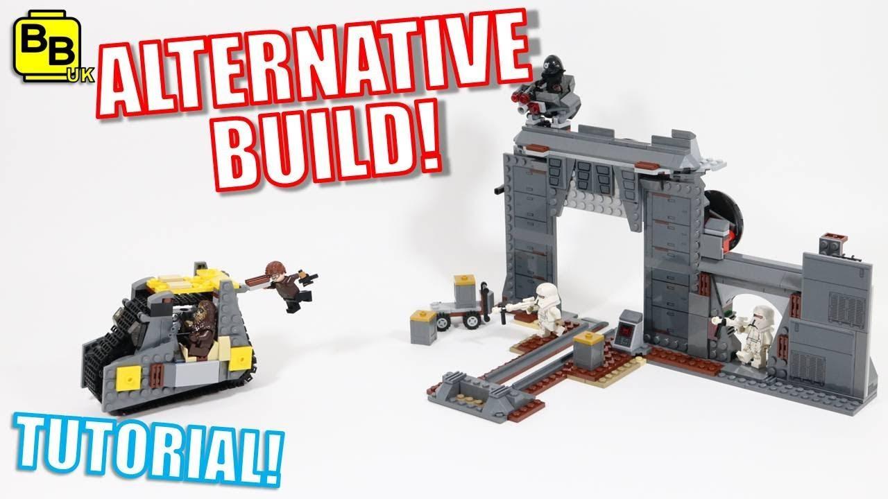 KESSEL MINE! LEGO STAR WARS 75217 ALTERNATIVE BUILD KESSEL MINE ESCAPE!