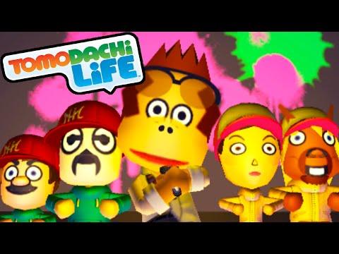 Tomodachi Life: DK Rap Song, Secret Rooftop Meeting Gameplay Walkthrough PART 33 Nintendo 3DS