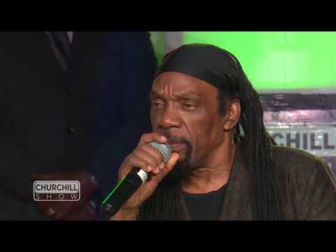 Jamaican legend Glen washington performs on Churchill Show (видео)