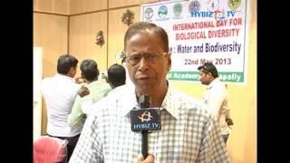 Mukherjee at Biological Diversity Day Event.