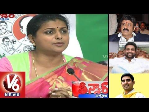 Roja-Slams-TDP-Govt-Demands-Balakrishna-Apology-Over-His-Comments-Teenmaar-News-V6-News-08-03-2016