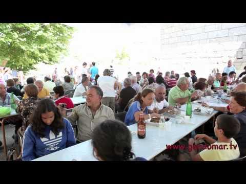 XVI festa do xurelo asado no Centro Cultural A Merced de Chaín.