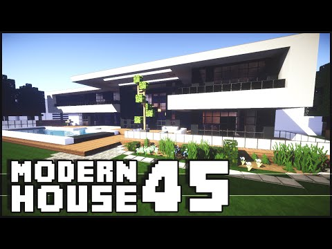 Modern - Minecraft - Modern House 45 The Minecraft Inspiration Series! Give it a LIKE if you did enjoy. Don't forget to subscribe ▻ http://goo.gl/yCQnEn Shaders for 1.7.2 Tutorial - http://goo.gl/qSgFVJ...