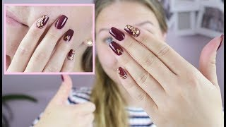 BURGDUNDY LOOK | mit meinem Favorite-Nagellack | Danana - YouTube
