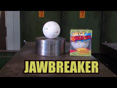療癒液壓機又出動了,這次碾爆超硬糖球!