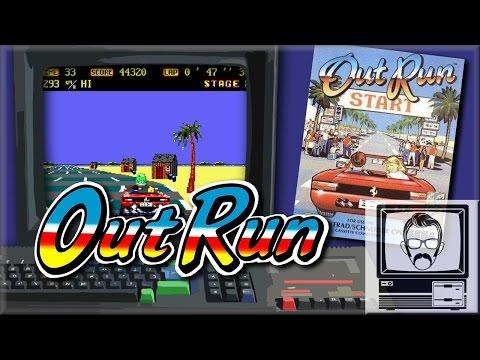 The Worst Outrun Port? Amstrad CPC [Quick Play] | Nostalgia Nerd