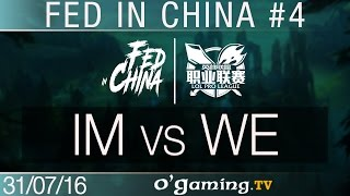 I May vs World Elite - Fed in China - Best of LPL #4