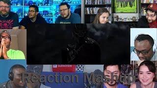 Video Black Panther Official Trailer REACTION MASHUP #2 MP3, 3GP, MP4, WEBM, AVI, FLV Oktober 2017