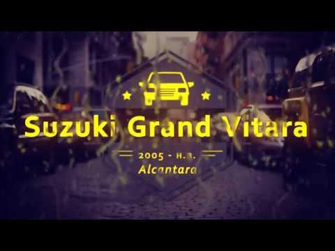 """Чехлы на Suzuki Grand Vitara, серии """"Alcantara"""" - серая строчка"""