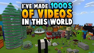 I Created 1000 Videos In This World (Creative World Tour)