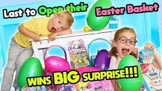 Video Last To OPEN Their Easter Basket Wins BIG Surprise! Tannerites MP3, 3GP, MP4, WEBM, AVI, FLV April 2019