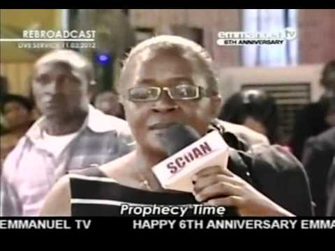TB Joshua. Prayer & Prophecy 11-03-2012
