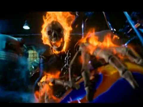 "- Bad To The Bone  With ""the Ghost Rider"""