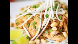 Pad Thai con pollo