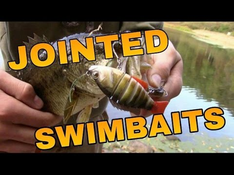 How to Fish Jointed Swimbaits for BIG Bass_Horg�szat vide�k