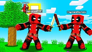 PLAYING As DEADPOOL In Crazycraft | JeromeASF