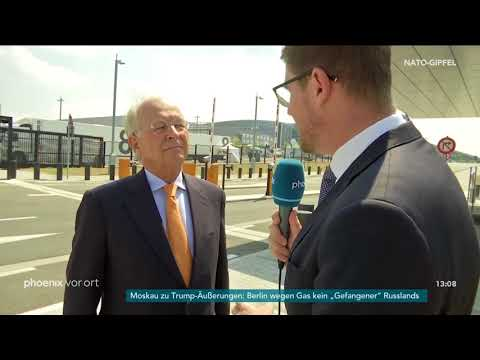 Wolfgang Ischinger zum Verlauf des NATO-Gipfels am 12 ...