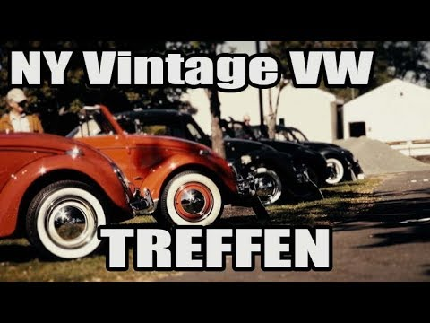Classic VW BuGs 2017 NY Vintage Air-Cooled Beetle Treffen Show Videos