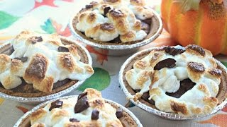 How To Make Pumpkin S'more Brownies