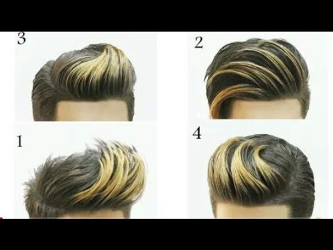 Mens hairstyles - Men's Hairstyle 2018  Cool Quiff Hairstyle  Short Hairstyles For Men   New Hairstyle For Boys ..
