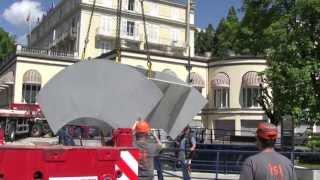 Divonne-les-Bains France  city images : l'Aqualienne est arrivée à Divonne-les-Bains France