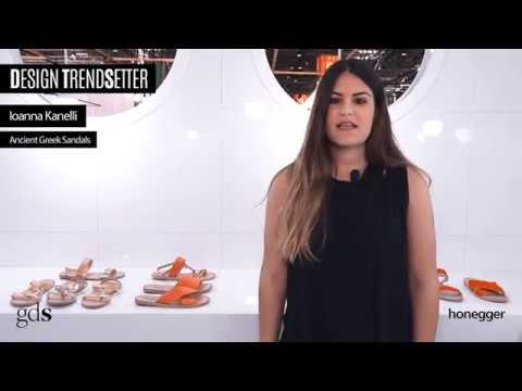 Design Trendsetter - July 2015 - Ancient Greek Sandals видео