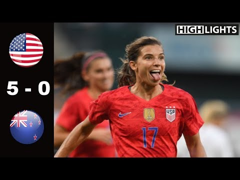 USA vs New Zealand 5 - 0 All Goals & Highlights | May 16, 2019