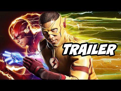 The Flash Season 6 Episode 14 Trailer - Wally West Flash Returns Scene Breakdown and Easter Eggs