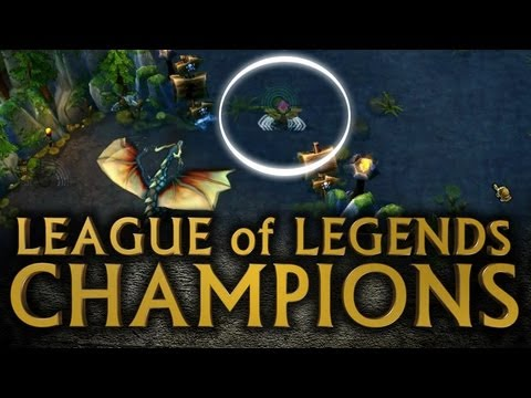 League of Legends Champions - Ward Guide and Placement (Ep.02)