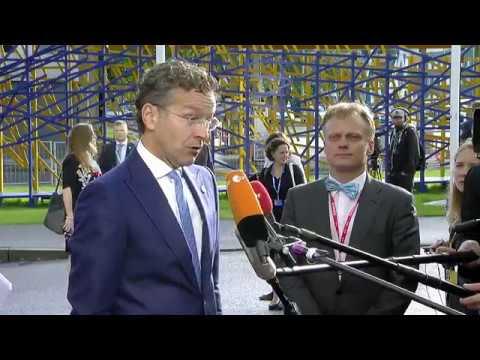 Δηλώσεις Ντέισελμπλουμ πριν το Eurogroup