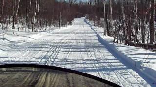 6. Snowmobile Trail Riding Cam - 2003 Ski-doo MXZ 600 HO