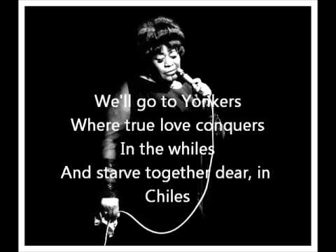 Manhattan - Ella Fitzgerald Lyrics
