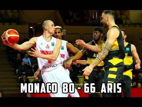 BCL — Monaco 80 - 66 Aris Salonique — Highlights