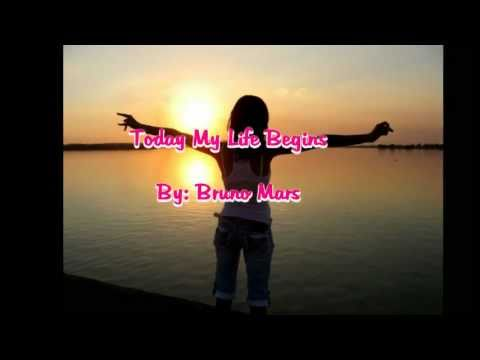 Bruno Mars - Today My Life Begins