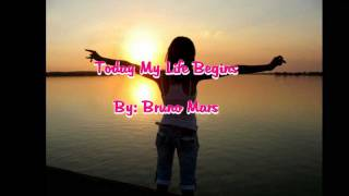 Download Lagu Bruno Mars - Today My Life Begins Mp3