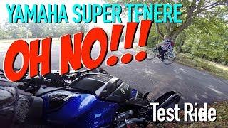 6. Yamaha Super Ténéré Test Ride and CRASH!